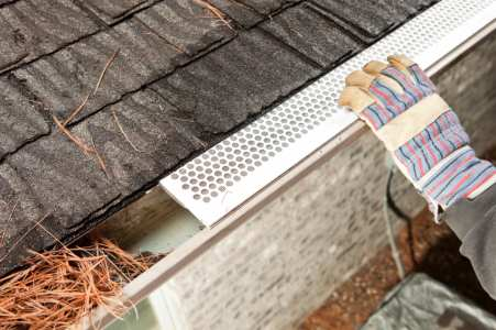 Gutter services by Details Home Improvement LLC